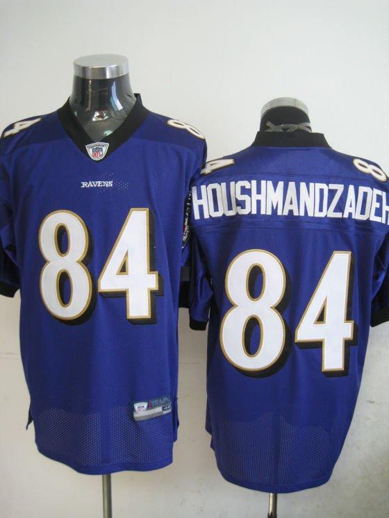 Baltimore Ravens # 84 Houshmandzadeh NFL Jersey Purple