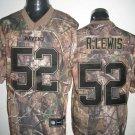Baltimore Ravens # 52 Lewis NFL Jersey Camo