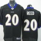 Baltimore Ravens # 20 Reed NFL Jersey Black