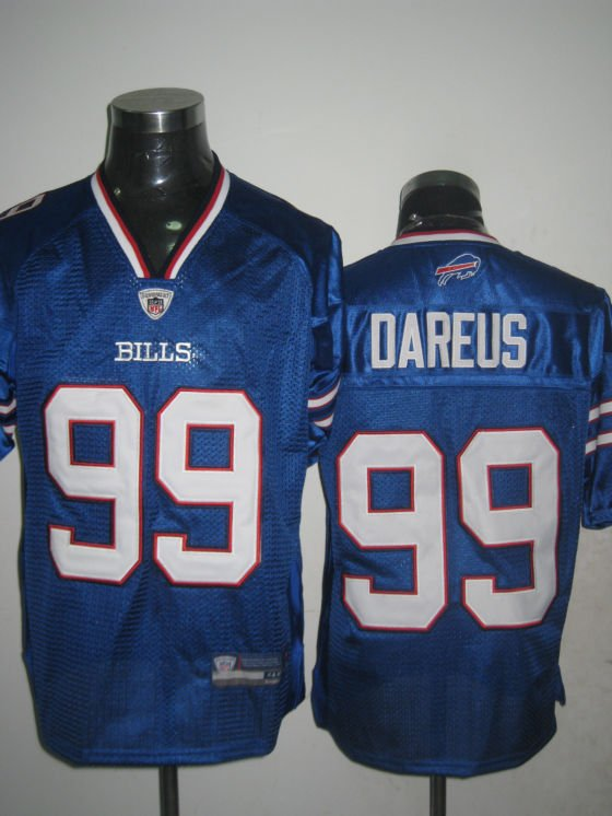 Buffalo Bills # 99 Dareus NFL Jersey Blue
