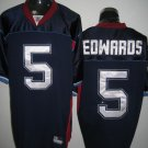 Buffalo Bills # 5 Edwards NFL Jersey Blue