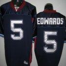 Buffalo Bills # 5 Edwards NFL Jersey Blue