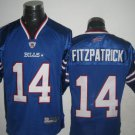 Buffalo Bills # 14 Fitzpatrick NFL Jersey Blue
