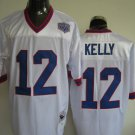Buffalo Bills # 12 Kelly NFL Jersey White
