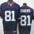 Buffalo Bills # 81 Owens NFL Jersey Blue