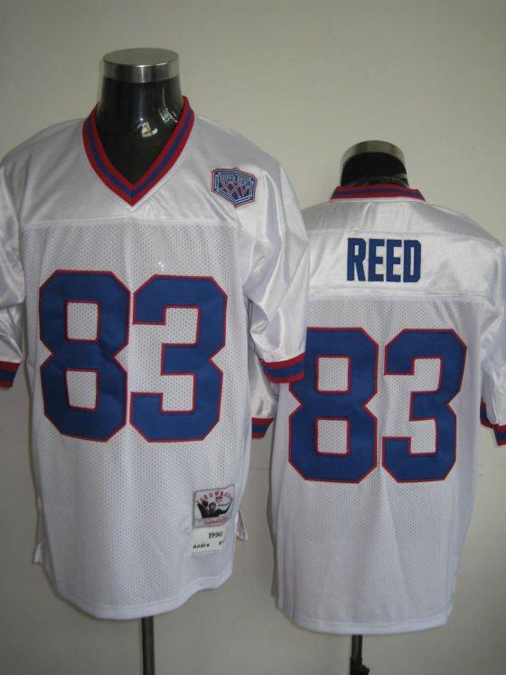 Buffalo Bills # 83 Reed NFL Jersey White