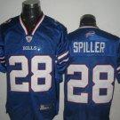 Buffalo Bills # 28 Spiller NFL Jersey Blue