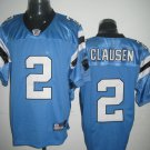 Carolina Panthers # 2 Clausen NFL Jersey Blue