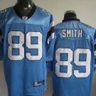 Carolina Panthers # 89 Smith NFL Jersey Blue