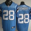 Carolina Panthers # 28 Stewart NFL Jersey Blue