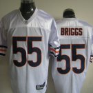 Chicago Bears # 55 Briggs NFL Jersey White