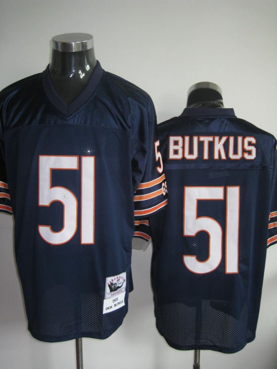 Chicago Bears # 51 Butkus NFL Jersey Blue