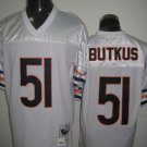 Chicago Bears # 51 Butkus NFL Jersey White