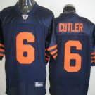 Chicago Bears # 6 Cutler NFL Jersey Blue Orange