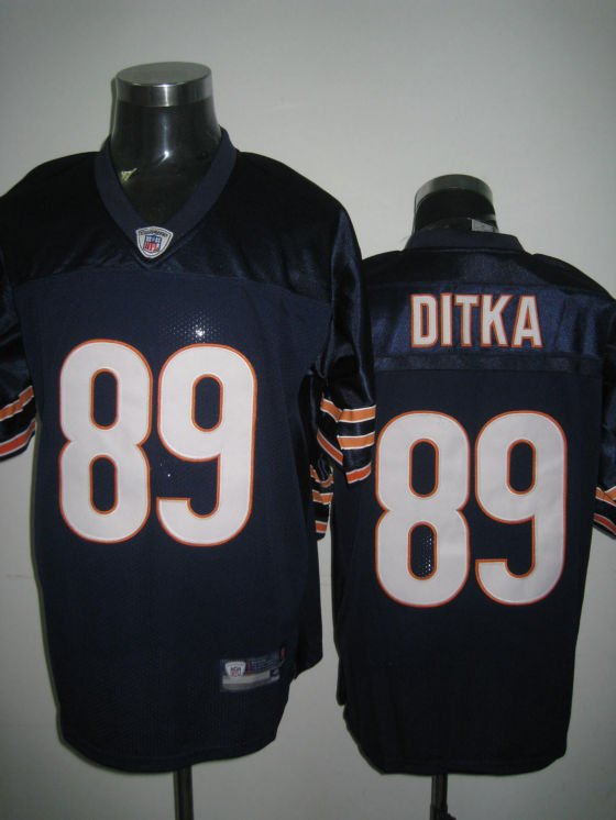 Chicago Bears # 89 Ditka NFL Jersey Blue