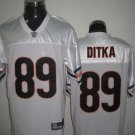 Chicago Bears # 89 Ditka NFL Jersey White