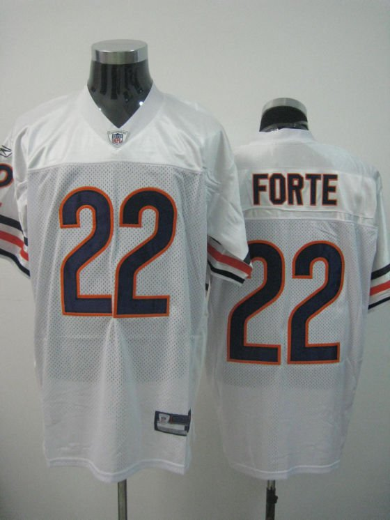 Chicago Bears # 22 Forte NFL Jersey White