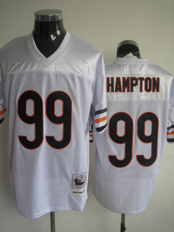 Chicago Bears # 99 Hampton NFL Jersey White