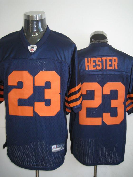 Chicago Bears # 23 Hester NFL Jersey Blue Orange