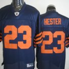 Chicago Bears # 23 Hester NFL Jersey Blue Orange