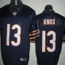Chicago Bears # 13 Knox NFL Jersey Blue