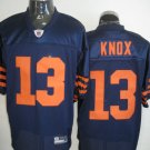 Chicago Bears # 13 Knox NFL Jersey Blue Orange