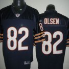 Chicago Bears # 82 Olsen NFL Jersey Blue