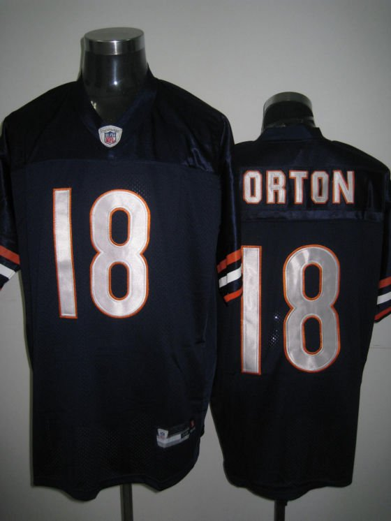 Chicago Bears # 18 Orton NFL Jersey Blue