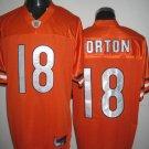 Chicago Bears # 18 Orton NFL Jersey Orange