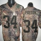 Chicago Bears # 34 Payton NFL Jersey Camo