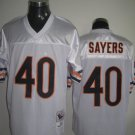 Chicago Bears # 40 Sayers NFL Jersey White