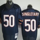 Chicago Bears # 50 Singletary NFL Jersey Blue