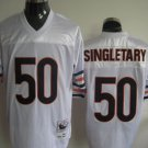 Chicago Bears # 50 Singletary NFL Jersey White
