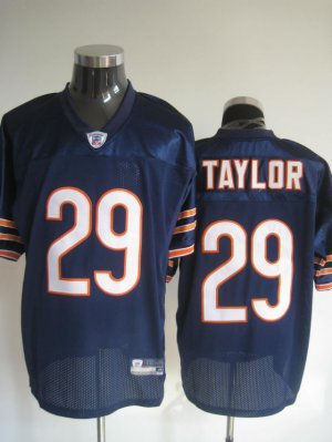 Chicago Bears # 29 Taylor NFL Jersey Blue