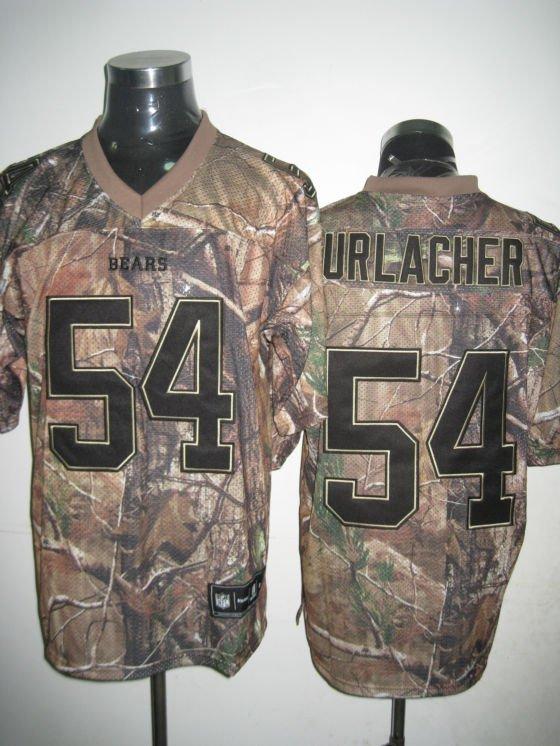 Chicago Bears # 54 Urlacher NFL Jersey Camo