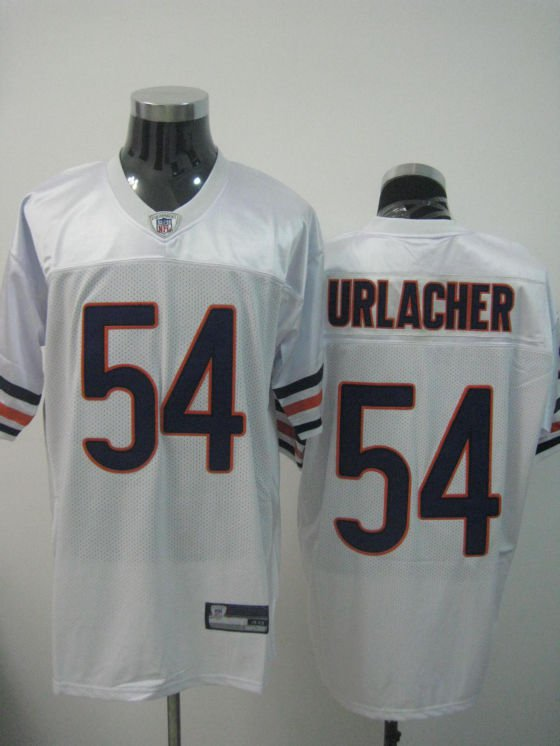 Chicago Bears # 54 Urlacher NFL Jersey White