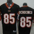 Cincinnati Bengals # 85 Ochocinco NFL Jersey Black