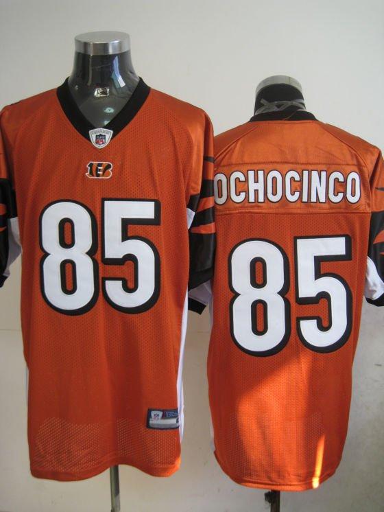 Cincinnati Bengals # 85 Ochocinco NFL Jersey Orange