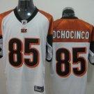 Cincinnati Bengals # 85 Ochocinco NFL Jersey White