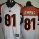 Cincinnati Bengals # 81 Owens NFL Jersey White