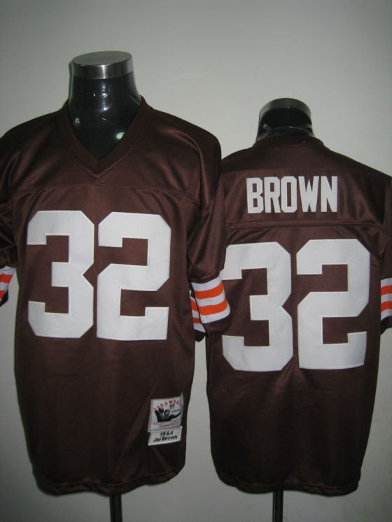 Cleveland Browns # 32 Brown NFL Jersey Brown