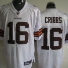 Cleveland Browns # 16 Cribbs NFL Jersey White