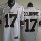 Cleveland Browns # 17 Delhomme NFL Jersey White