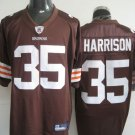Cleveland Browns # 35 Harrison NFL Jersey Brown