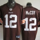 Cleveland Browns # 12 McCoy NFL Jersey Brown