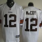 Cleveland Browns # 12 McCoy NFL Jersey White