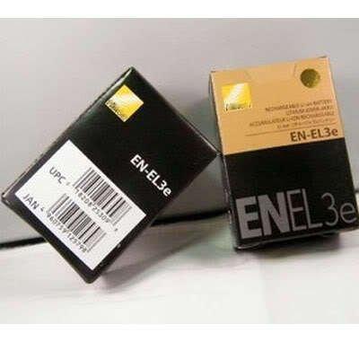 EN-EL3e Battery for Nikon Digital Camcorder