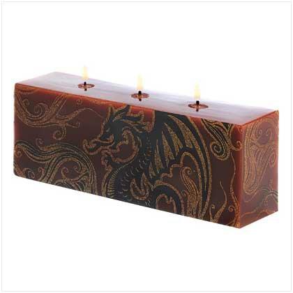Dragoncrest Brick Candle