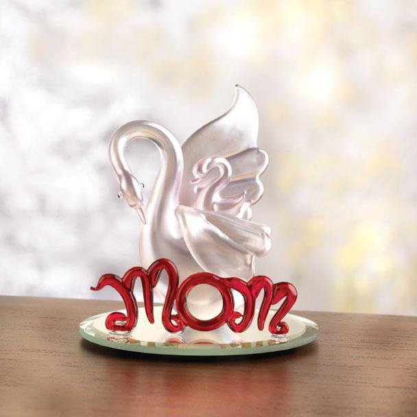 Mother Swan Figurine