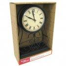 Better Homes & Gardens Wrought Iron Mantel Clock